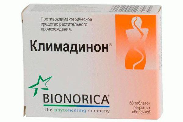 İyileştirici ilaç Climadinone: kullanım talimatları
