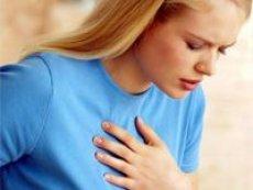Göğüste esin ile ağrı