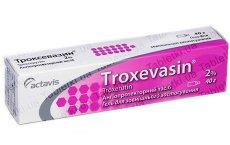 Troxevasin: kullanım talimatları